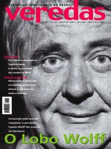 Primeira capa revista Veredas