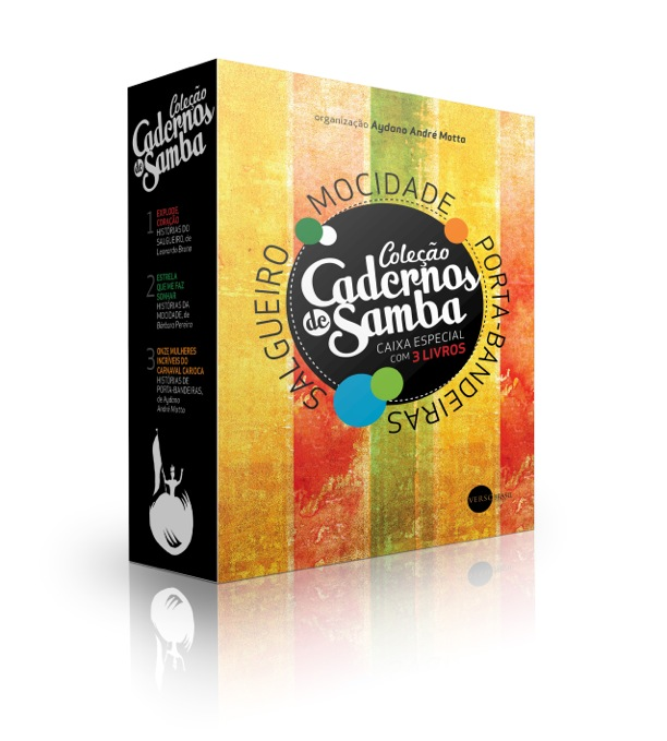 Luvas Cadernos de Samba_especial 3 livros