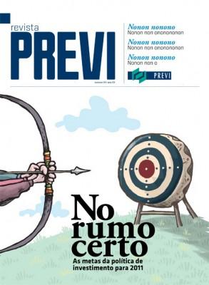 Capa da Revista Previ