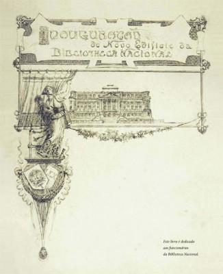 Ilustração do livro Capa do livro Impresso no Brasil (1808-1930) – Destaques da história gráfica no acervo da Biblioteca Nacional